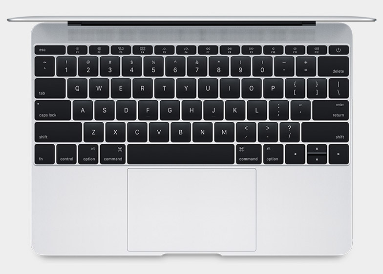 Apple's new Macbook with a 12-inch Retina display