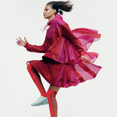 Nike x Sacai capsule collection aims to make sportswear more feminine
