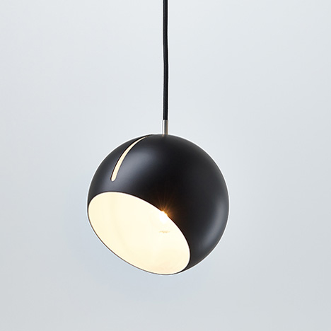 Tilt Globe lamp by Nyta, exhibiting at designjunction edit Milan
