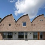 Office with a sawtooth roof