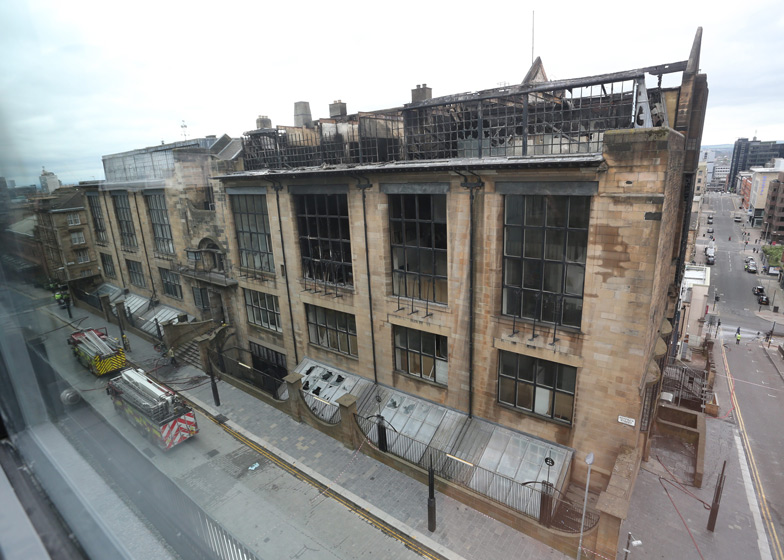 PagePark Appointed To Restore Fire Damaged Glasgow School Of Art