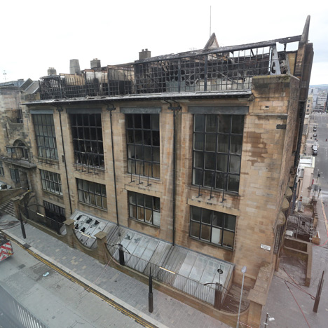 Page\Park appointed to restore fire-damaged<br /> Glasgow School of Art