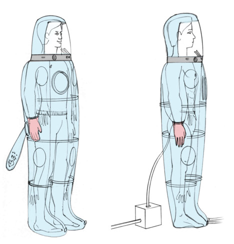 Patient Isolation Suit by Renfrew Group International