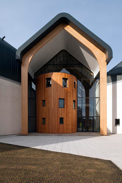 Dalmunach Distillery, Moray, by Archial Norr