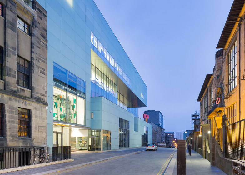 Reid Building, Glasgow School of Art, by Steven Holl Architects with JMArchitects