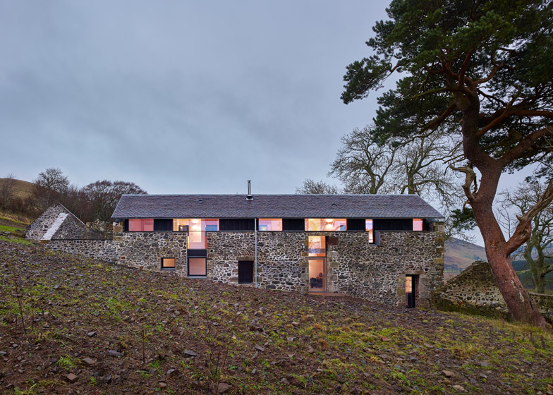 The Mill, Southside Steading, Peebles, by WT Architecture