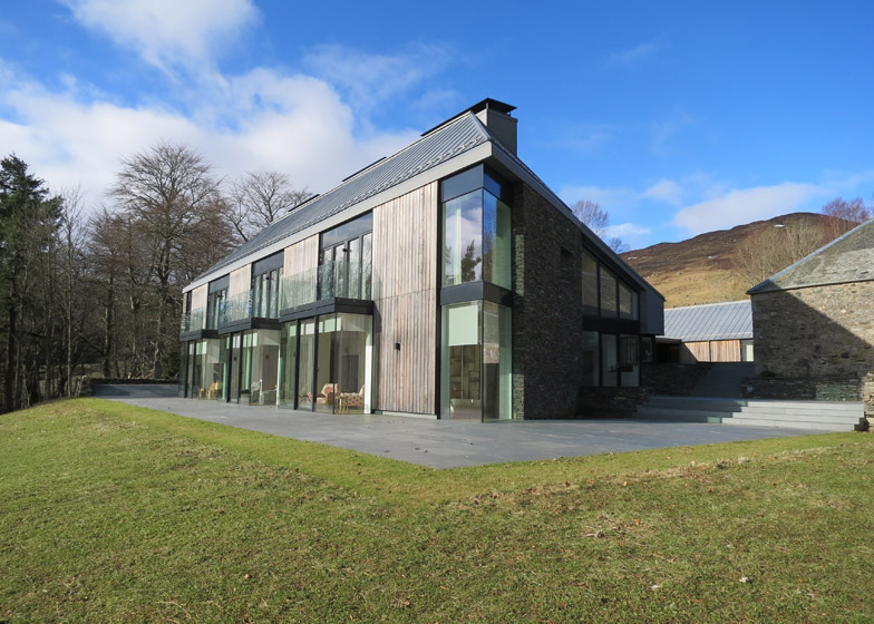 Highland Steading, by Marcus Lee and Cameron Webster Architects