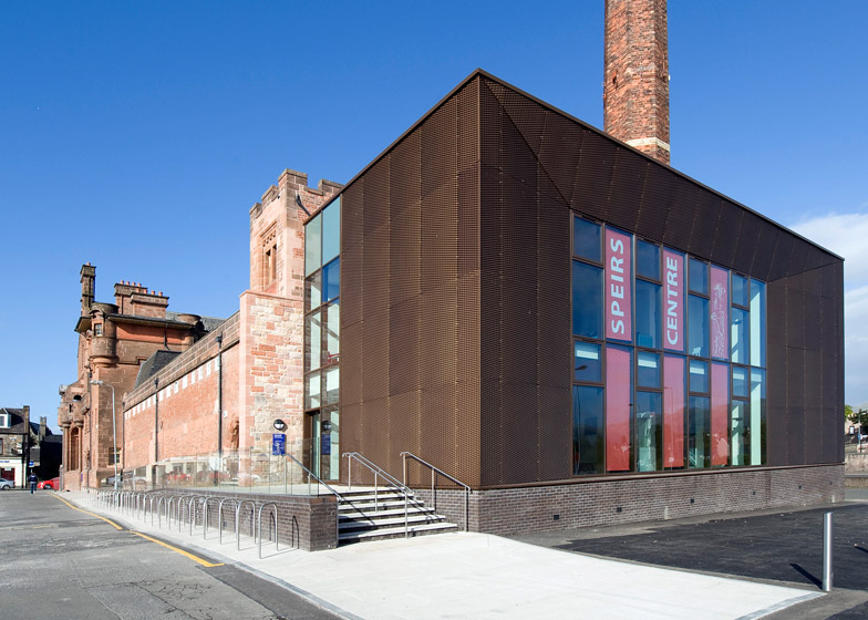 Speirs Centre, Alloa, by LDN Architects
