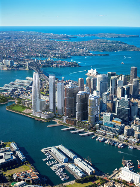 Renzo Piano to design Sydney's Barangaroo South residential towers