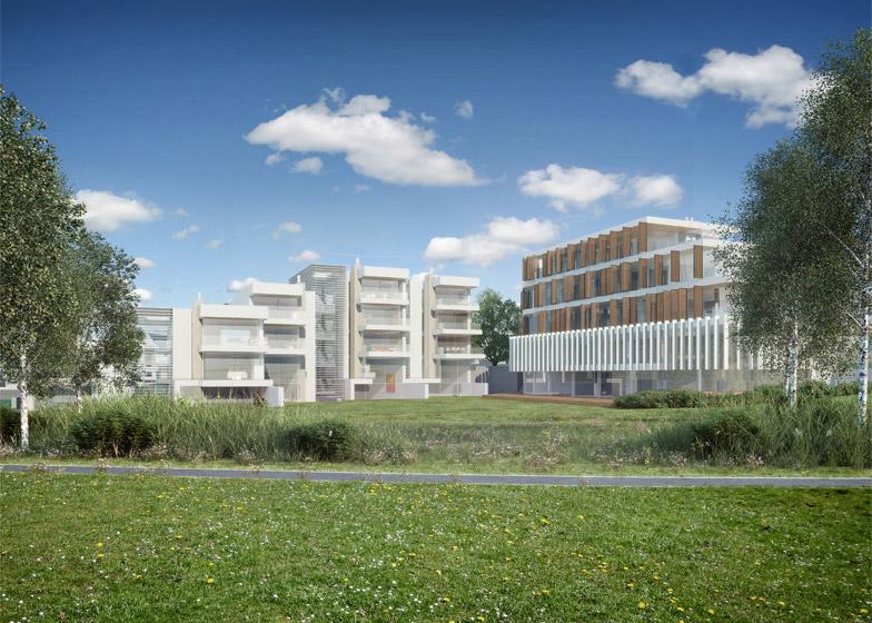 Oak Prague housing development