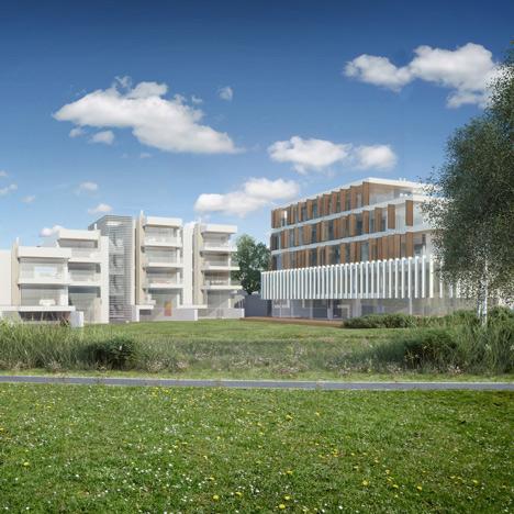 Eva Jiřičná, Richard Meier and John Pawson recruited for village-like development near Prague