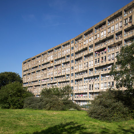 Robin Hood Gardens by Alison and Peter Smithson