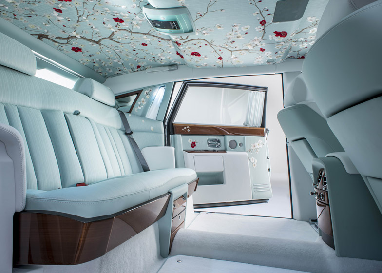 Rolls Royce Creates Most Opulent Car Interior