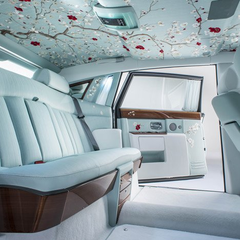 "Rolls-Royce uses bamboo and silk to create its ""most opulent"" car interior"