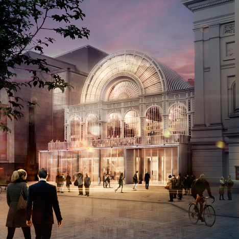 Royal Opera House by Stanton Williams