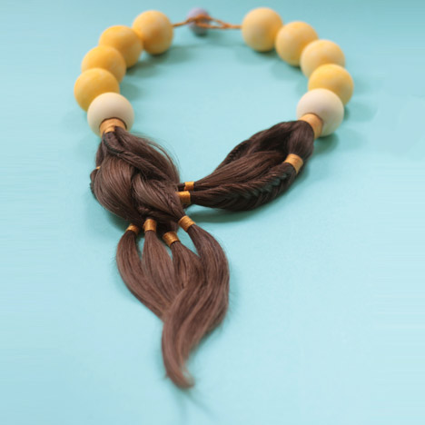Sybille Paulsen creates jewellery for<br /> cancer patients using their own hair