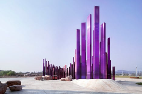 The Soundwave installation by Penda
