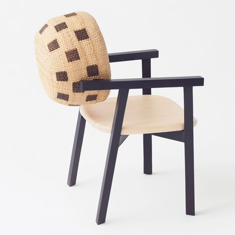 Nendo's Tokyo Tribal furniture incorporates bamboo baskets