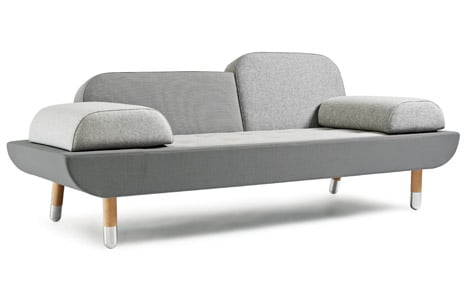 Toward sofa by Anne Boysen for Erik Jørgensen