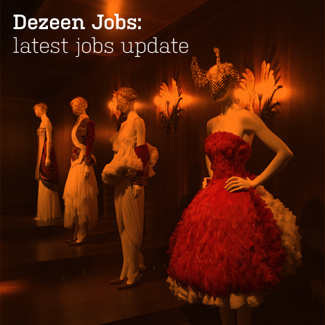 : Dezeen Jobs architecture and design recruitment