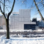 OFIS Arhitekti creates grid of crosses on the facade of Villa Criss-Cross Envelope