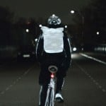 Volvo's reflective Life Paint turns bicycles and clothes into high-visibility objects