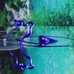 Kamiel Rongen creates hypnotic music video inside a fishbowl