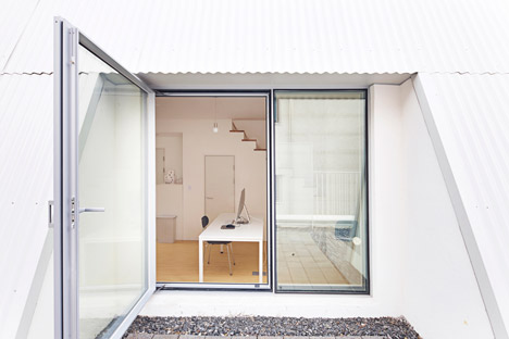 The White Cone House, Seoul by Apparat-c