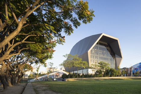 Zhonghe Sports Center in Taiwan by Q-Lab Design