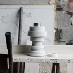 Moreno Ratti's marble vase stacks like a mathematical puzzle