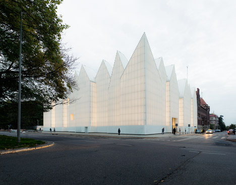 The Szczecin Philharmonic Hall by Barozzi Veiga