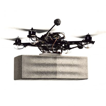 Drones can collaborate to build architectural structures