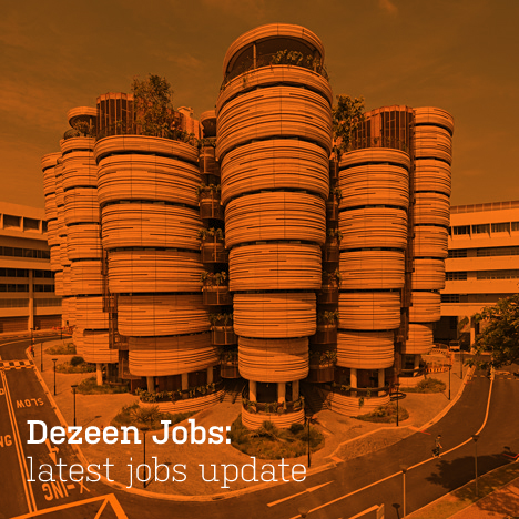 Dezeen Jobs architecture and design recruitment.