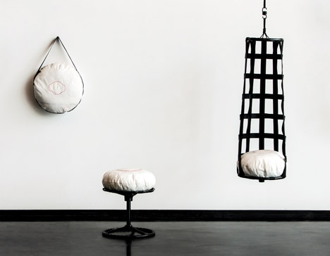 Knuy up-cycled furniture by Christine Herold & Anne-Sophie Schwarz. Photo by MID (Made in Darmstadt