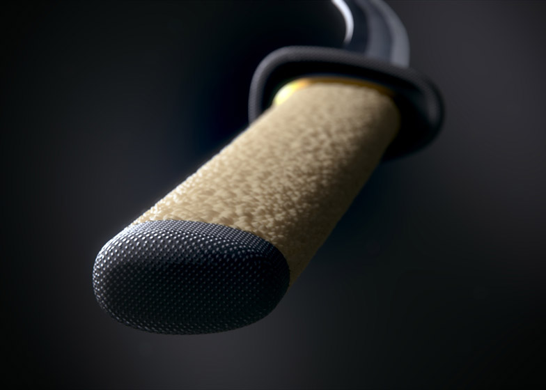 Aikuchi sword by Marc Newson for WOW