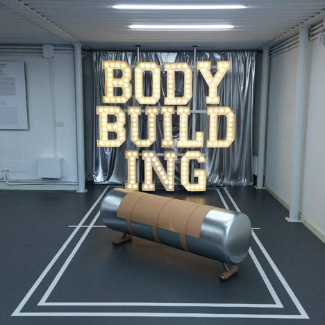 Body Building by Alberto Biagetti and Laura Baldassari