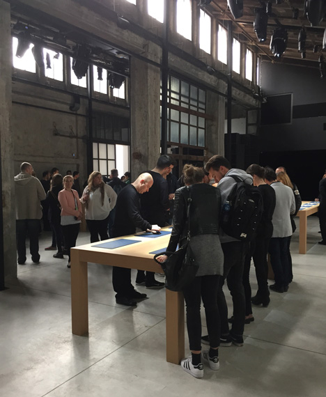 Apple Watch event in Milan