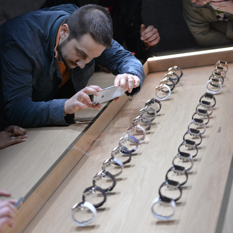 Apple shows its new Apple Watch at one-day event in Milan
