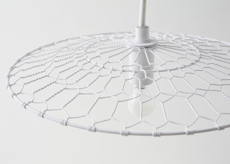 Basket lamp for Kanaami