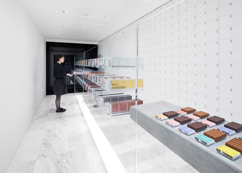 BbyB chocolate shop in Tokyo