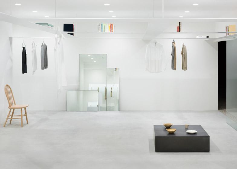 Beige concept store in Tokyo