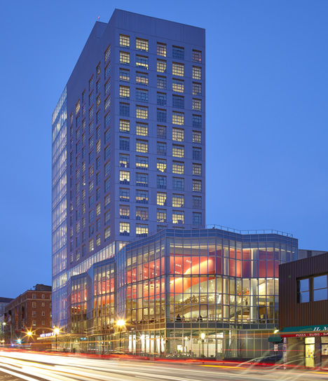 Berklee College of Music by William Rawn Associates