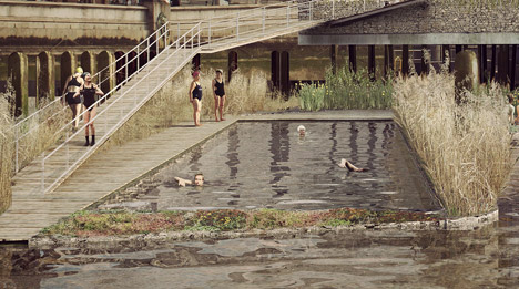 Blackfriars Baths by Studio Octopi