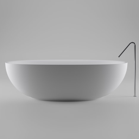 Boffi Fisher Island bathtub