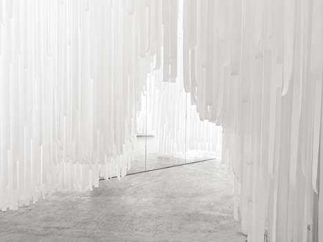 COS X Snarkitecture installation at Milan 2015