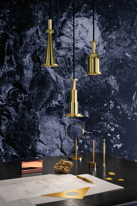 Cog lights by Tom Dixon