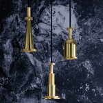 Tom Dixon's Cog lights are shaped like machine components