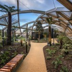 Foster's Crossrail Place roof garden opens at Canary Wharf