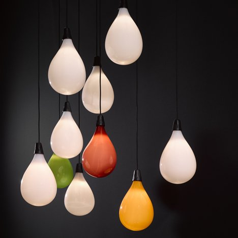 Das Pop Light by Maarten Baas for Lasvit