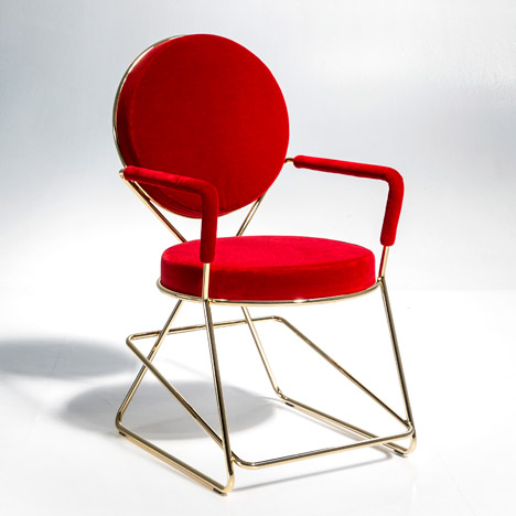 Ground Zero chair by David Adjaye for Moroso